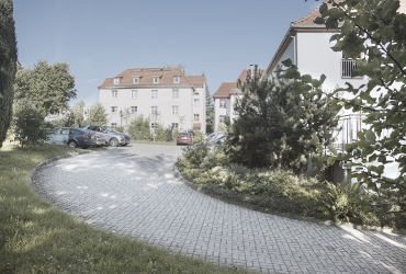 Ausreichend Parkflächen am Beispiel in Ilmenau